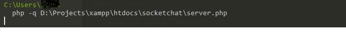 Start Chat Server