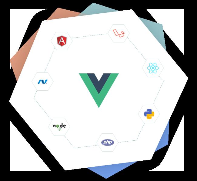 Vue.js Development Banner
