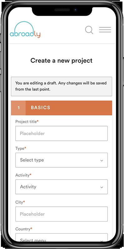Organization (New Project)